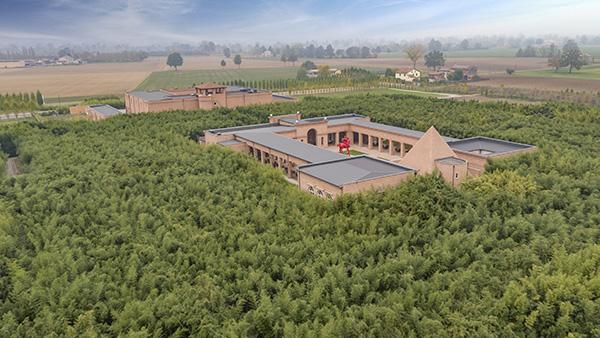 Il Labirinto della Masone, a pochi minuti da Parma, il più grande labirinto di bambù al mondo (foto Carlo Vannini)