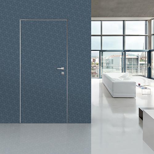 La porta blindata Sleek di Dierre sfrutta una tecnologia brevettata, ispirata all'ingegneria aeronautica, che protegge la casa da furti, rumori e sbalzi termici