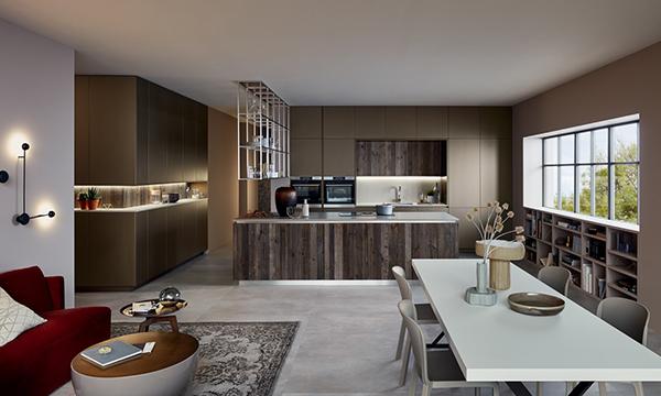 Torna la biennale dedicata al mondo della cucina nel segno di soluzioni efficienti, intelligenti e modulari A EuroCucina ci sono 111 espositori distribuiti su un'area pari a 21.800 metri quadrati che occupano i padiglioni 9-11 e 13-15 (in foto Lounge, di Veneta Cucine)