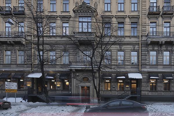 Il nuovo showroom di Rimadesio si trova al civico 46 di Bolshaya Morskaya, una delle vie più rinomate della città