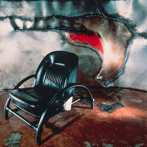 Ron Arad, Rover Chair (1981). Courtesy Ron Arad Associates, photo: Howard Kingsnorth