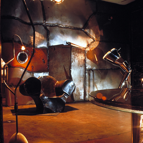 Ron Arad's One Off Studio, Covent Garden London (1983-91). Courtesy Ron Arad Associates