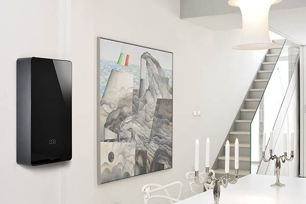 <em>Osa </em> Caldaia–monolite a muro di estrema pulizia formale. Di Ilaria Jahier, Igor Zilioli Sergio Fiorani, Gianluca Angiolini per Unical