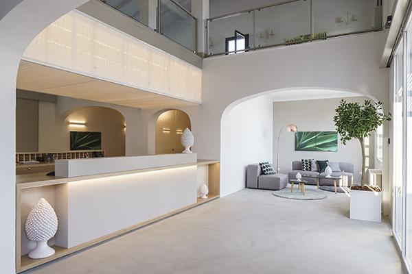 L'accogliente hall del VOI Marsa Siclà Resort