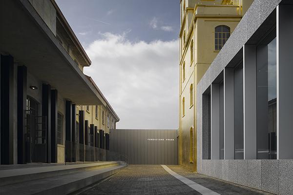 <em>Fondazione Prada</em> Museo in sapiente equilibrio fra conservazione, creatività e sostenibilità. Oma per F. Prada