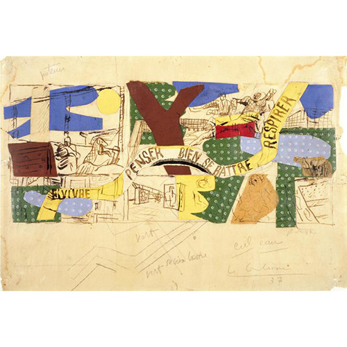 """PARIGI - Il <a href=""""http://www.centrepompidou.fr"""">Centre Pompidou</a> rende omaggio all'Uam, acronimo per Union des artistes modernes (Unione degli artisti moderni), il collettivo di architetti, designer e creativi che rappresenta la modernità francese del 20esimo secolo. Tra questi si ricordano Le Corbusier, Mallet-Stevens, d'Eileen Gray, Charlotte Perriand, René Herbst e Pierre Chareau. La mostra """"Uam, Une aventure moderne"""" è aperta fino al 27 agosto. Nella foto il pannello murale <em>Habiter</em>, opera di Le Corbusier per il Pavillon des temps nouveaux all'Esposizione internazionale di Parigi del 1937"""