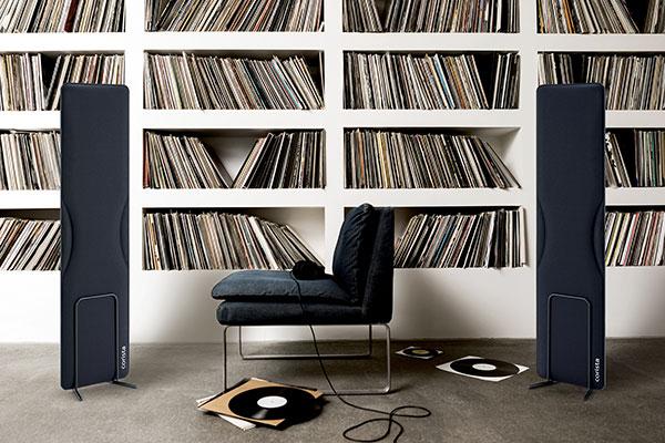 Creare la stanza della musica con i pannelli fonoassorbenti mobili Corista di Lorenzo Palmeri, designer e compositore, per Caimi Brevetti