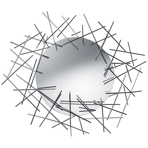 """<a href=""""http://www.madeindesign.it"""">Made in design</a> offre sconti che possono arrivare al -60% , qualche esempio: Alessi fino al 55% (in foto lo specchio <em>Blow-up</em>), Tom Dixon fino al 50%, Martinelli Luce fino al 40%, Luceplan – 20% su tutta la collezione, Artemide – 15% su tutta la collezione, Flos – 14% su tutta la collezione. Inoltre fino al 2 luglio 12% di sconto su tutto il sito (compresi i saldi) usando il codice <em>SALDIMID12</em>"""