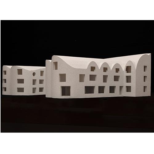 Modello del New College di Oxford dello studio David Kohn Architects