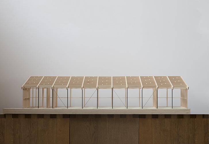 Modello strutturale dello studio Feilden Fowles
