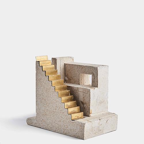 Modello della scala degli appartamenti Long Lane dello studio HASA Architects