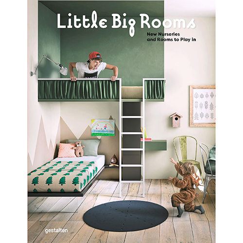 La cover del libro edito da Gestalten <em>Little Big Rooms</em>