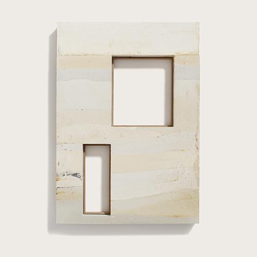 Modello della facciata del progetto The Aviaries, una casa progettata dallo studio Mary Duggan Architects