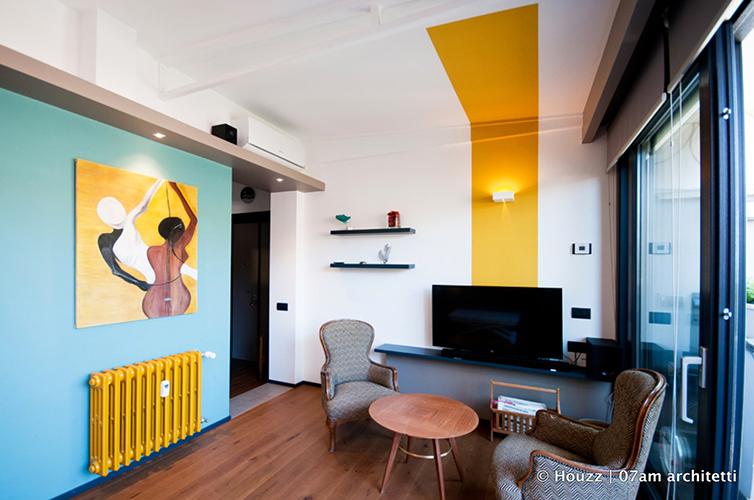 Statement ceiling -  È così che gli inglesi indicano i soffitti decorati, invitandoci a considerare il soffitto come una vera e propria parete aggiuntiva