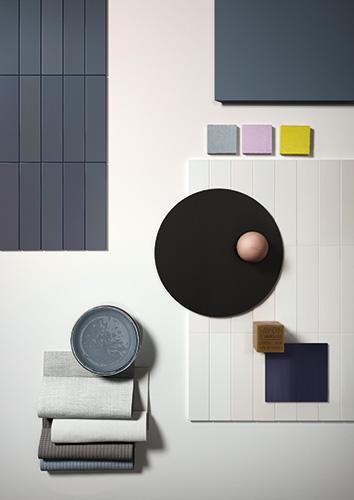 La linea <em>Cromatica</em> è composta da 6 colori declinati in due superfici (naturale e lucida) e numerosi formati