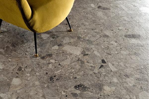 """<a href=""""http://Ceramica Fioranese"""">Ceramica Fioranese</a> con <em>Frammenta</em> interpreta il Ceppo di Gré, una roccia tipica dell'architettura lombarda"""
