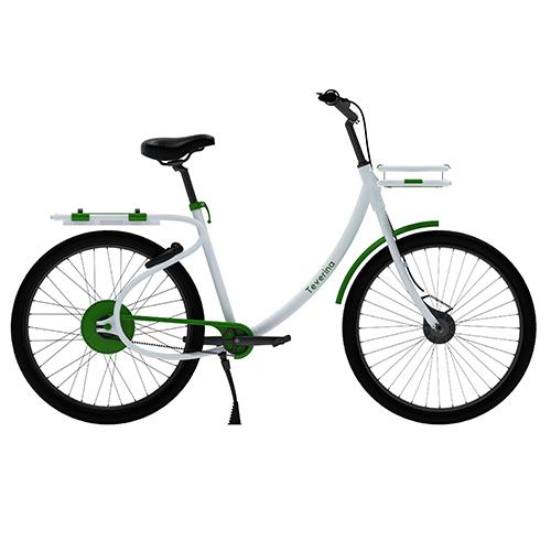 TEVERINA - Ied, Istituto Europeo di Design, progetto di tesi; partner: Comune di Roma, Zehus Human +; design: Giulia Lanciotti e Filippo Guazzaroni - Il Free Floating Bike Sharing (FFBS) è un servizio di condivisione di biciclette più flessibile del tradizionale bike sharing e che si sta diffondendo nelle maggiori città del mondo, sempre più sensibili al tema della mobilità sostenibile. Teverina è una bicicletta progettata per un servizio di FFBS dedicato alla città di Roma <em>www.ied.it</em>