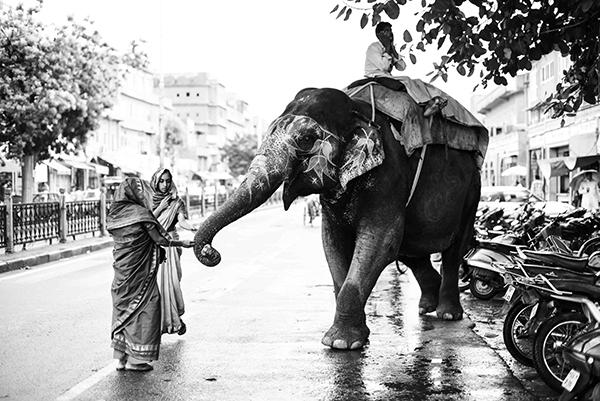 """Nelle immagini scattate da Balboni il fiume c'è sempre, anche quando non compare (Corrado Peli, scrittore). """"Varanasi, la città della luce"""" (foto Paolo Balboni)"""