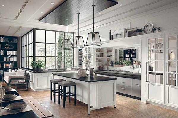 Marchi Cucine presenta Bellagio, la cucina componibile dal sapore raffinato e versatile