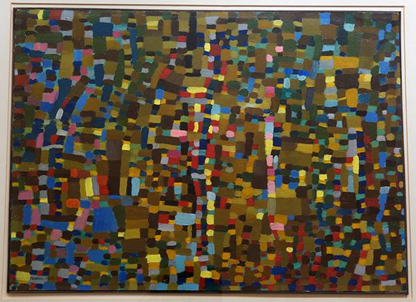 Punto di luce 1942, olio su masonite (courtesy Miroslava Hajek)