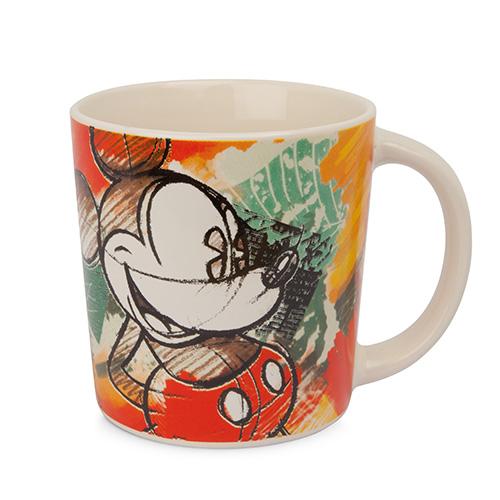 Sì ispira al passato il disegno di Topolino sulla tazza prodotta da Egan