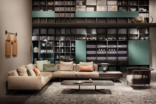 Lema si ripresenta al Salone del Mobile.Milano Shanghai con una visione d'insieme della propria offerta: sistemi modulari, imbottiti, sedute, tavoli, madie, letti e complementi