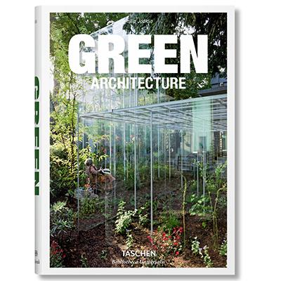 La copertina di <em>Green Architecture</em> di Philip Jodidio ed edito da Taschen