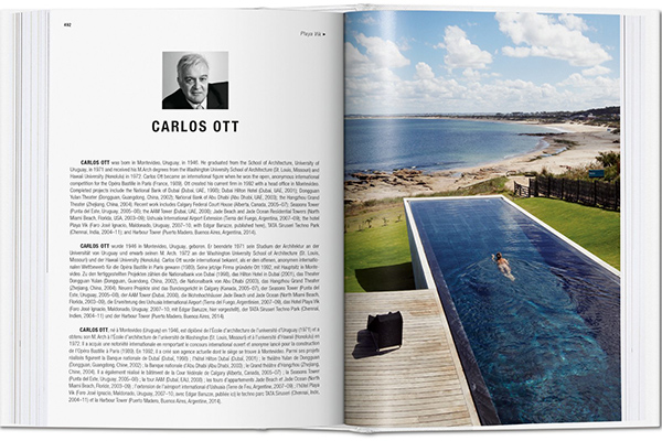 Il resort Playa Vik (Uruguay) dell'architetto Carlos Ott si caratterizza per tetti verdi, sistemi di riciclaggio dell'acqua, calore radiante, ventilazione naturale e un sistema intelligente per controllare il consumo energetico