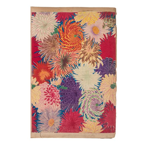 Chiyogami - Decorated paper Japan, 19th century Musée des Arts Décoratifs © MAD Paris / Photo: Jean Tholanc