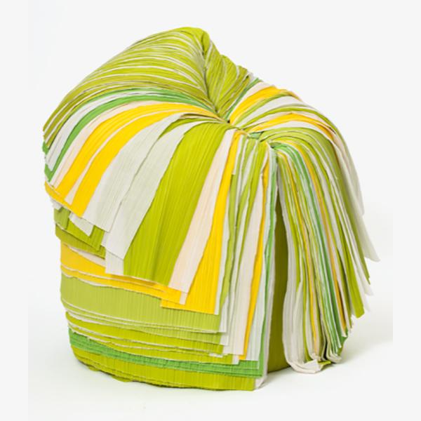 """Sato Oki - """"Cabbage"""" Chair Nendo Editions Japan, 2008 Musée des Arts Décoratifs © MAD Paris / Photo: Jean Tholance"""