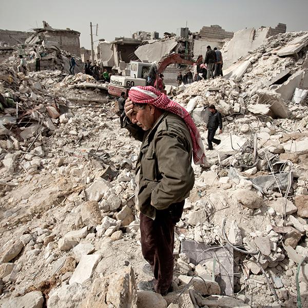 Siria, distruzioni