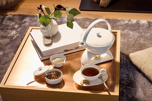 """Per gli amanti del tè la ricca collezione Tea Passion di <a href=""""http://www.villeroy-boch.it"""">Villeroy&Boch</a>. Ogni tazzina è stata appositamente disegnata per mantenere perfettamente le fragranze delle diverse tipologie di questa calda bevanda (da 9,90 euro)"""