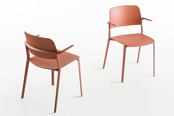 Le sedie Appia di Maxdesign
