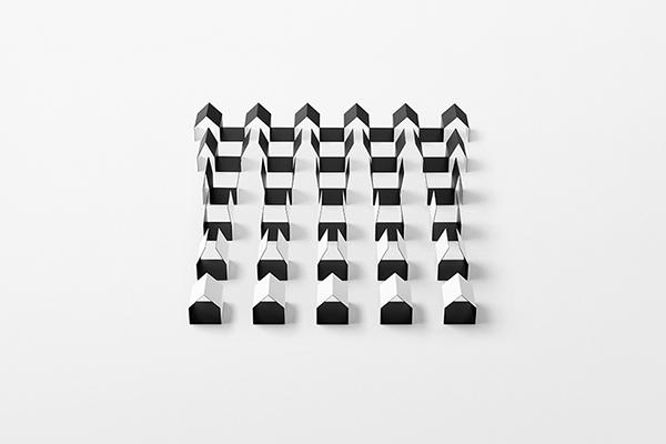 Nella galleria fotografica le prove per la mostra che usa l'archetipo della casa in un percorso in cui «provare con il corpo quello che guardando i disegni di Escher si percepisce con gli occhi», spiega il designer giapponese (foto Akihiro Yoshida)