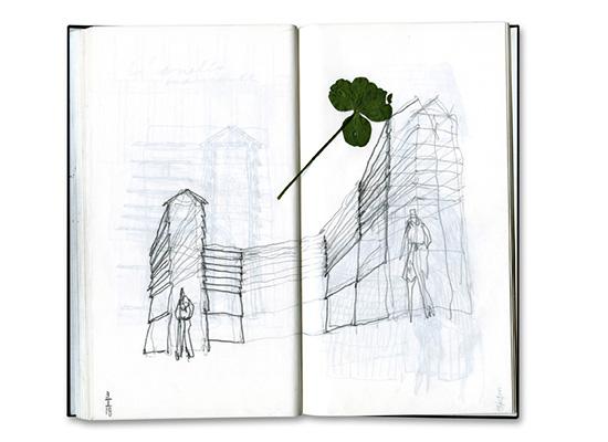 L'Anello mancante nello schizzo di Michele De Lucchi (Book 22, 2018)