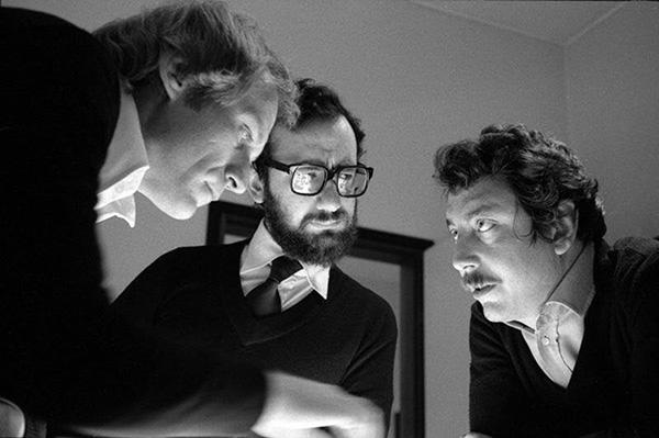 Alfonso F. Grassi (1943-2014), Gianfranco Laminarca (1941-1990) e Alberto Marangoni (1943) sono i fondatori dello Studio MID design/comunicazioni visive