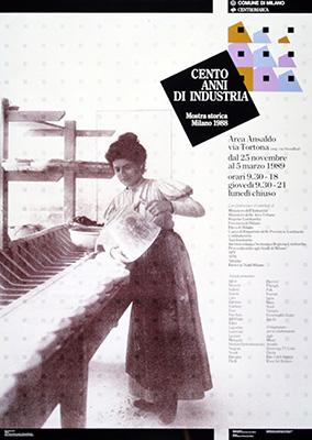Tra le tante mostre allestite e coordinate si ricordano <em>Cento Anni di Industria</em> (1989 - nella foto),  <em>Gli Anni Trenta, arte e cultura in Italia</em> (1982) e <em>Il Cammino del Commercio</em> (1991)