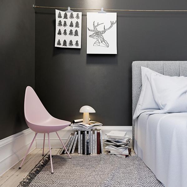 """La sedia <em>Drop</em> di <a href=""""https://fritzhansen.com/"""">Fritz Hansen</a> rinnova il suo look con quattro nuovi colori vivaci: rosa, giallo, blu e un elegante grigio"""