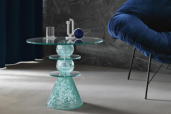 """<a href=""""https://www.tonellidesign.it/"""">Tonelli Design</a> inaugura il 2019 presentando a Colonia le sue principali collezioni come il tavolino <em>Il Paese delle Meraviglie </em> di Paolo Lomazzi"""