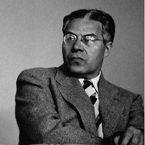 László Moholy-Nagy -  Invitato da Gropius a insegnare al Bauhaus nel 1923, ne diventa il riferimento per la grafica e per la fotografia