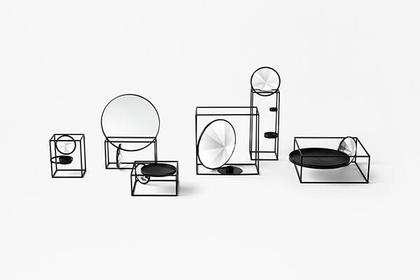 La collezione <em>Tangent</em> in tutte le sue versioni (foto Akihiro Yoshida)