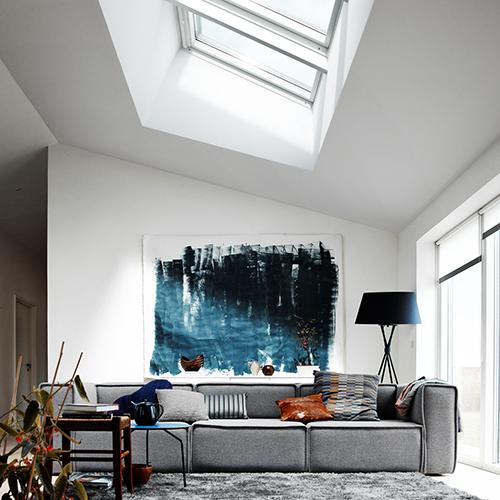 """<a href=""""https://www.velux.it/"""">Velux</a>,produttore di finestre per tetti, espone tutta la propria gamma di prodotti e servizie lanciala nuova finestra elettrica con apertura a vasistasche si apre di 45°"""