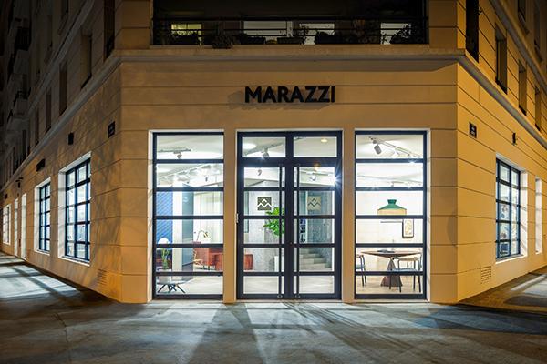 Il nuovo showroom Marazzi inaugura a Lione il 21 marzo. Si trova al civico 117 di avenue Jean Jaurès, un un vivace distretto cittadino dove hanno sede i negozi di grandi marchi del mondo dell'arredo-design