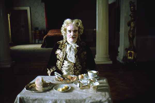 Foto dal set di <em>Barry Lyndon</em> (foto Warner Bros. Entertainment Inc)