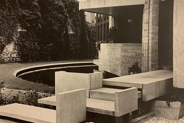 Casa Veritti si trova a Udine. È un progetto di Carlo Scarpa del 1955-63 (foto courtesy CISA Fototeca Carlo Scarpa - photo credit Aldo Ballo e Gianantonio Battistella)
