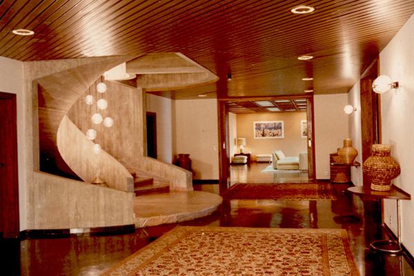 Ambasciata d'Italia di Pier Luigi Nervi (Brasilia,1969-1979)