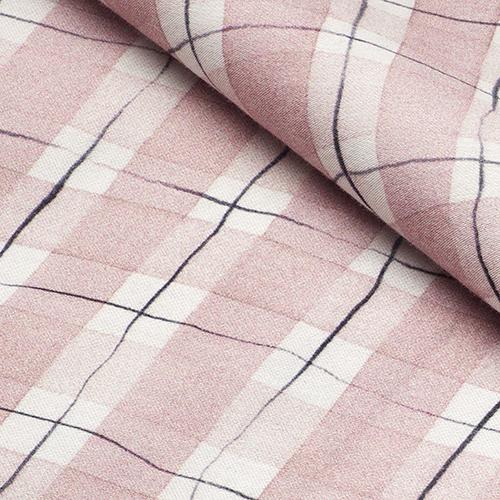 Il rosa è il colore dominante nella nuova collezione di biancheria da letto realizzata da Hästens in collaborazione con il fashion designer svedese Lars Nilsson