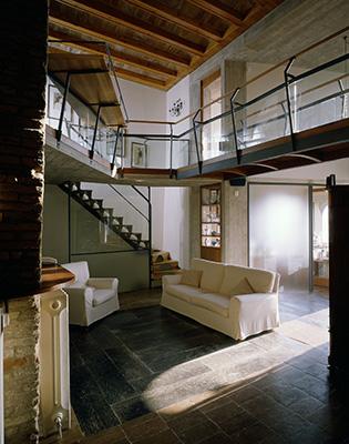 Casa Guzzini di Danilo Guerri a Recanati (1995 - 1998)