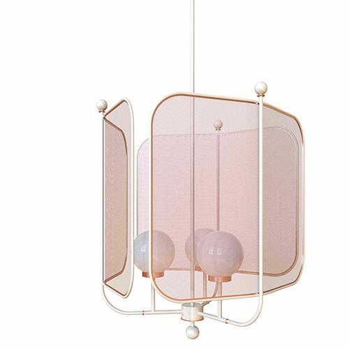 Decorativa, la lampada Papilio di Masiero illumina la stanza