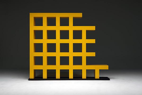 Ellissima, libreria modulare (foto Matteo Piazza)